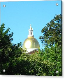 The Gold Dome Acrylic Print by Bruce Carpenter