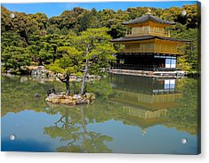 The Golden Pavilion Acrylic Print