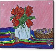 The Good Figs Acrylic Print by Maureen Ritzel