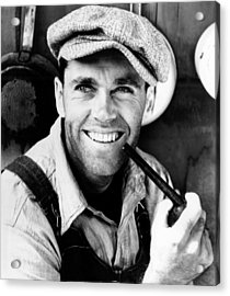 The Grapes Of Wrath, Henry Fonda, 1940 Acrylic Print by Everett