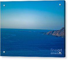 The Great Atlantic At Slieve League Acrylic Print by Black Sun Forge