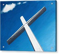 The Great Cross - Resurrection Acrylic Print by Kelvin Kelley