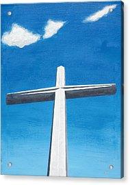 The Great Cross - Risen Acrylic Print by Kelvin Kelley
