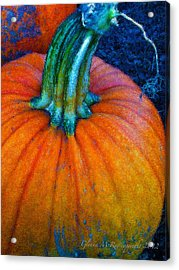 The Great Pumpkin Acrylic Print by Glenna McRae