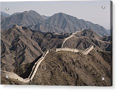 The Great Wall Snakes Acrylic Print by Dean Conger
