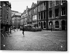 The Green Aberdeen Old Town City Centre Scotland Uk Acrylic Print by Joe Fox