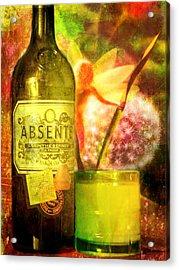 The Green Fairy Acrylic Print