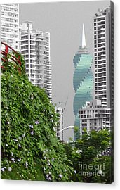 The Green Season In Panama Acrylic Print