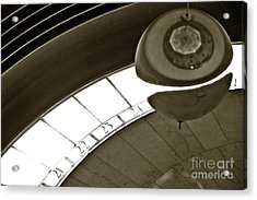 The Greenwich Observatory Ball Acrylic Print by Micah May