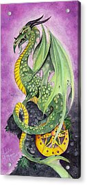 The Guardian Acrylic Print by Lorelei  Marie