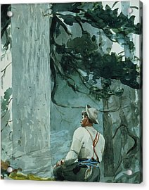 The Guide Acrylic Print by Winslow Homer