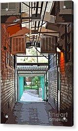 The Hallway Acrylic Print by Gwyn Newcombe