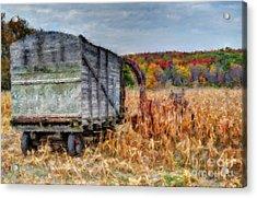 The Harvester Acrylic Print by Michael Garyet