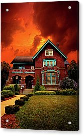 The Haunted Brumder Mansion Acrylic Print by Phil Koch