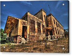 The Haunted Factory Acrylic Print by Stamatis Gr
