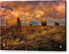 The Hayfield Acrylic Print
