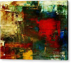 The Healing Process Inspired This Acrylic Print by Fania Simon