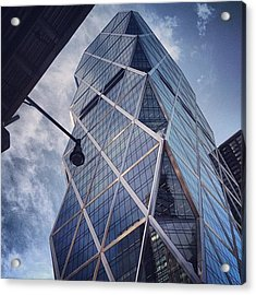 The Hearst Building Acrylic Print