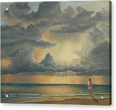 The Heavens Declare His Glory Acrylic Print by Ruth Gee