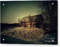The Hiding Barn Acrylic Print by Joel Witmeyer