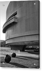 The Hirshhorn Museum I Acrylic Print by Steven Ainsworth