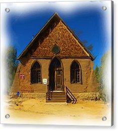 The Historic Hearst Church Acrylic Print by FeVa  Fotos