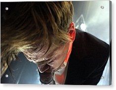 The Hives' Howlin' Pelle Almqvist Acrylic Print by Jesse Seilhan