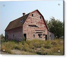 The Hole Barn Acrylic Print