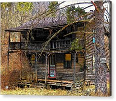 The Homestead Acrylic Print by Joyce Kimble Smith
