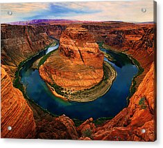 The Horseshoe Bend Acrylic Print by Daniel Chui
