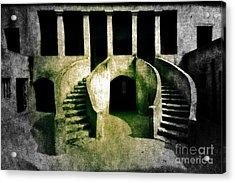 The House Of Slaves Acrylic Print by Fania Simon