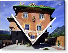 The House Upside Down Acrylic Print