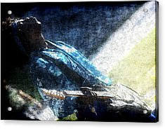 The Howling Guitar Acrylic Print by Frederico Borges