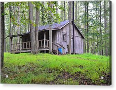 The Huntin Lodge Acrylic Print