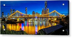 The Icon's Cousin Acrylic Print by Mark Lucey