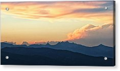 Acrylic Print featuring the photograph The Idaho Selkirks by Albert Seger