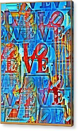 The Illusion Of Love Acrylic Print by Bill Cannon