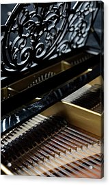 The Inside Of A Piano Acrylic Print by Studio Blond