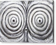 The Insomnia Penguin Acrylic Print by Kazuya Akimoto