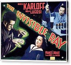 The Invisible Ray, Boris Karloff Acrylic Print by Everett