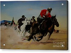 The Invisible War Acrylic Print