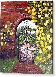 The Iron Gate Acrylic Print