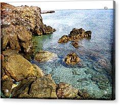 The Island Of Athena Acrylic Print