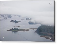 The Islands Of The Inside Passage Acrylic Print by Taylor S. Kennedy