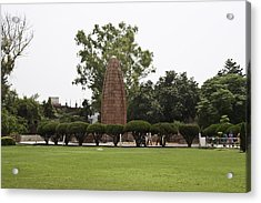 The Jallianwala Bagh Memorial In Amritsar Acrylic Print by Ashish Agarwal