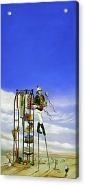 The Journey Of A Performer Acrylic Print by Cindy D Chinn