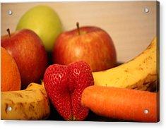 The Joy Of Fruit At Mid-day Acrylic Print by Andrea Nicosia