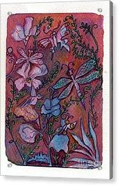 The Joys Of Nature Acrylic Print by Marlene Robbins