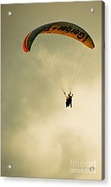The Jumper Acrylic Print by Syed Aqueel