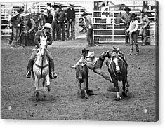 The Jumping Cowboy Acrylic Print